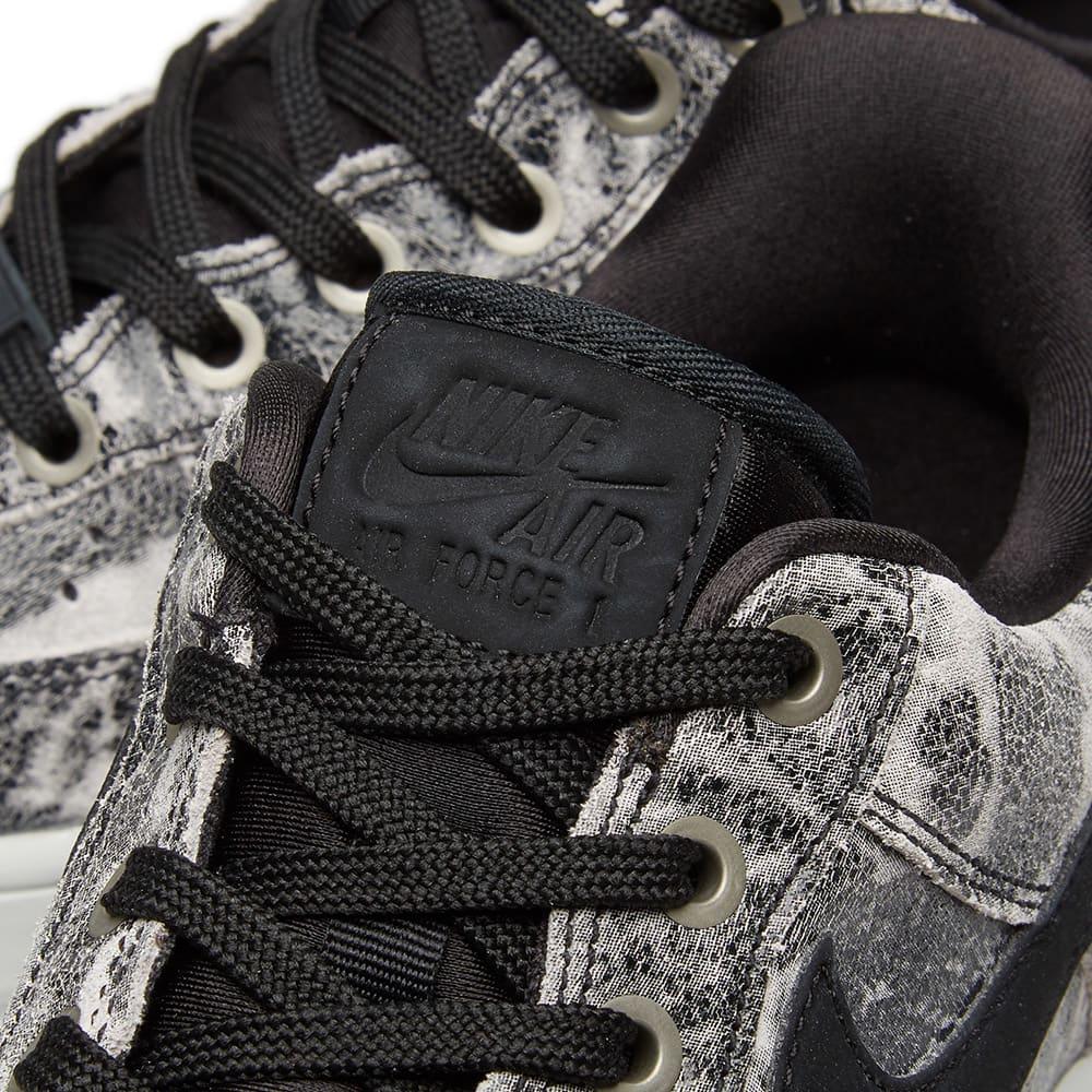 Nike Air Force 1 '07 LXX W - Black & Metallic Pewter