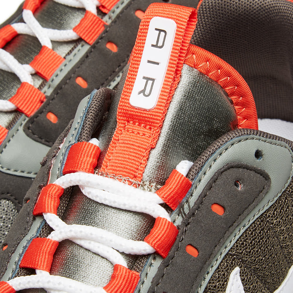 Nike Air Max 270 Futura - Dark Stucco, White & Orange