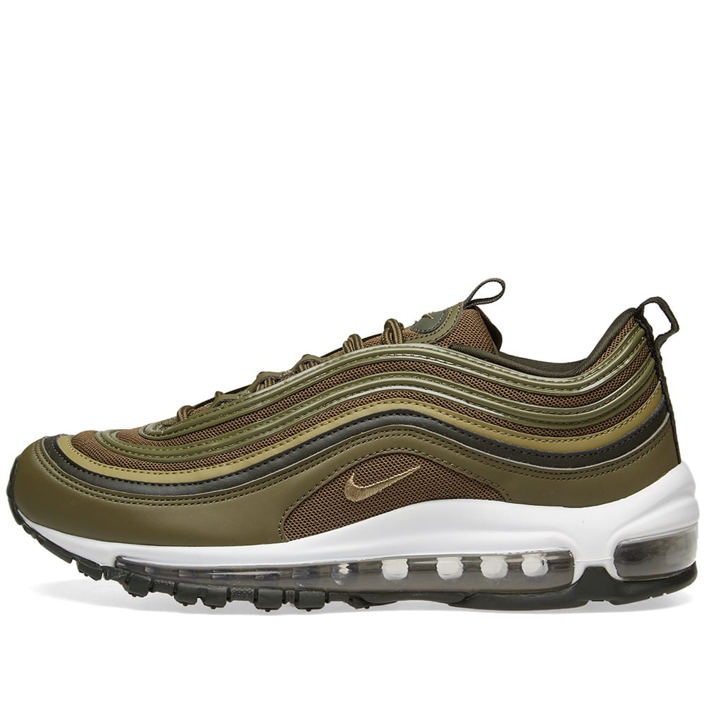 Nike Air Max 97 W - Olive & Sequoia