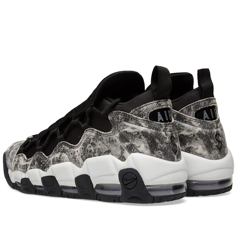 Nike Air More Money LX W - Black, White & Pewter