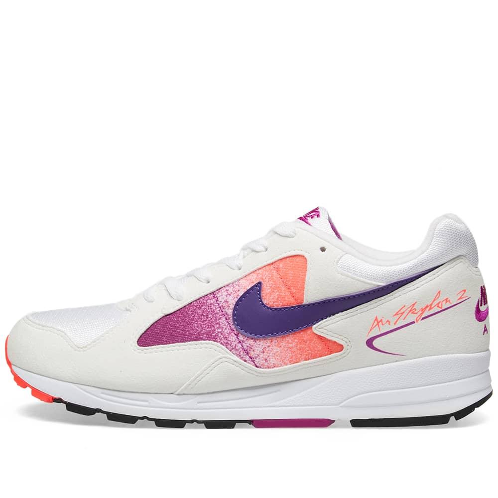 Nike Air Skylon II OG - White, Purple, Red & Black