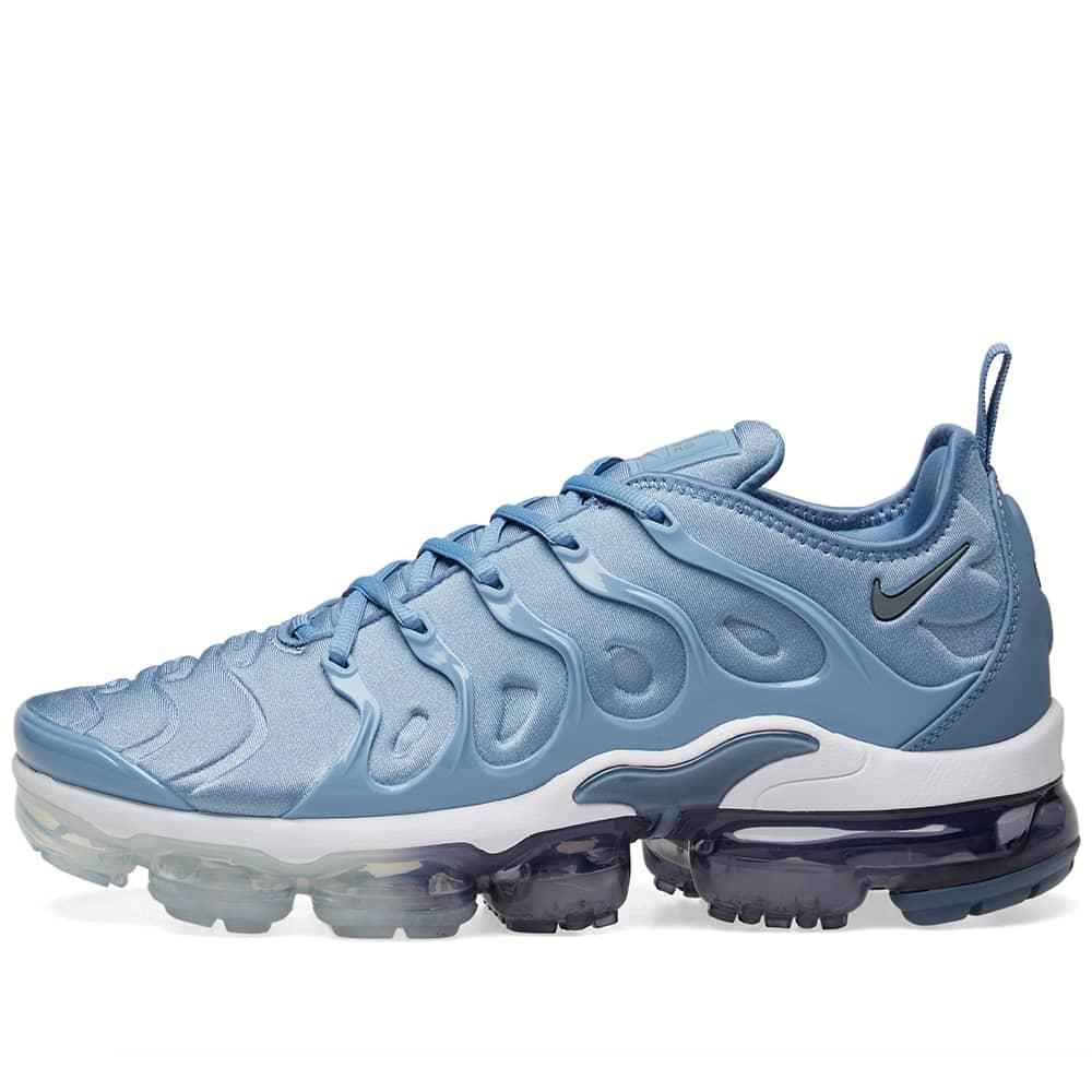 Nike Air VaporMax Plus - Blue, Grey & White