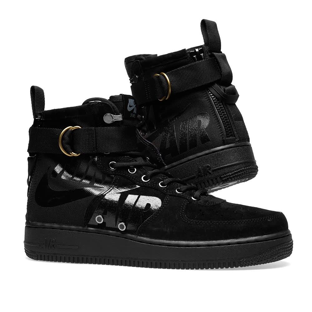 Nike SF Air Force 1 Mid - Black & Cool Grey