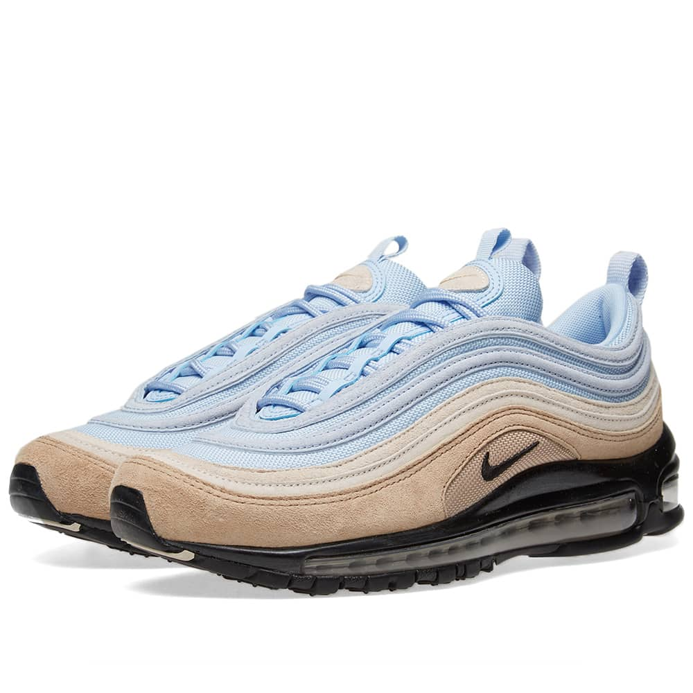 Suave mejilla boxeo  Nike Air Max 97 Premium Desert, Black, Sand & Royal | END.