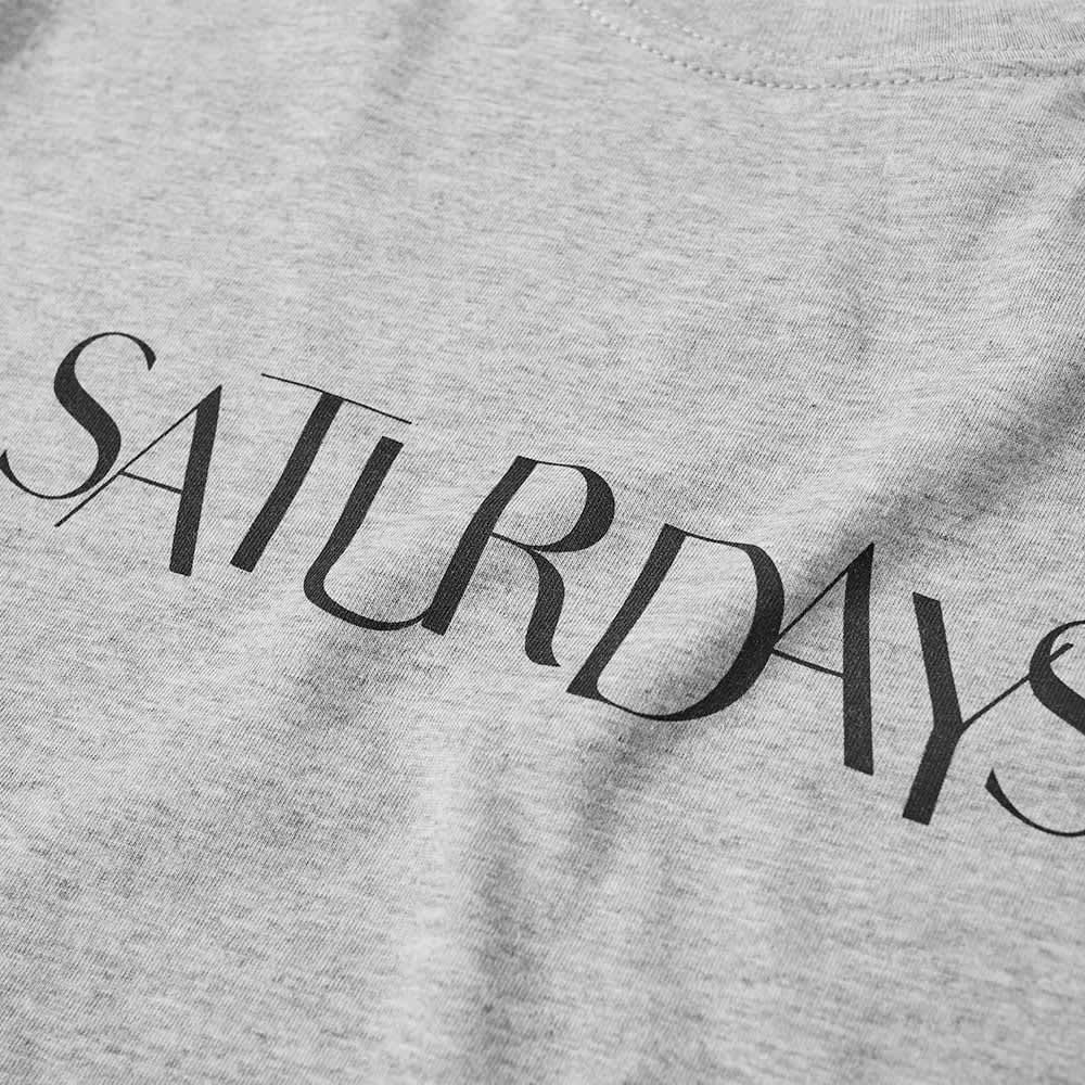 Saturdays NYC Miller Sans Tee - Ash Heather