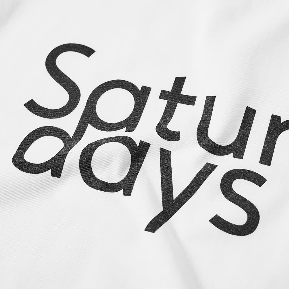 Saturdays NYC Long Sleeve Tee - White