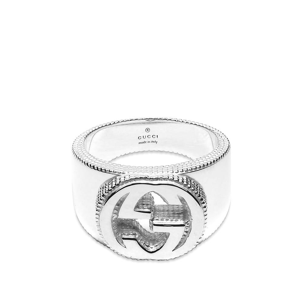 Gucci Interlocking G Ring - Sterling Silver