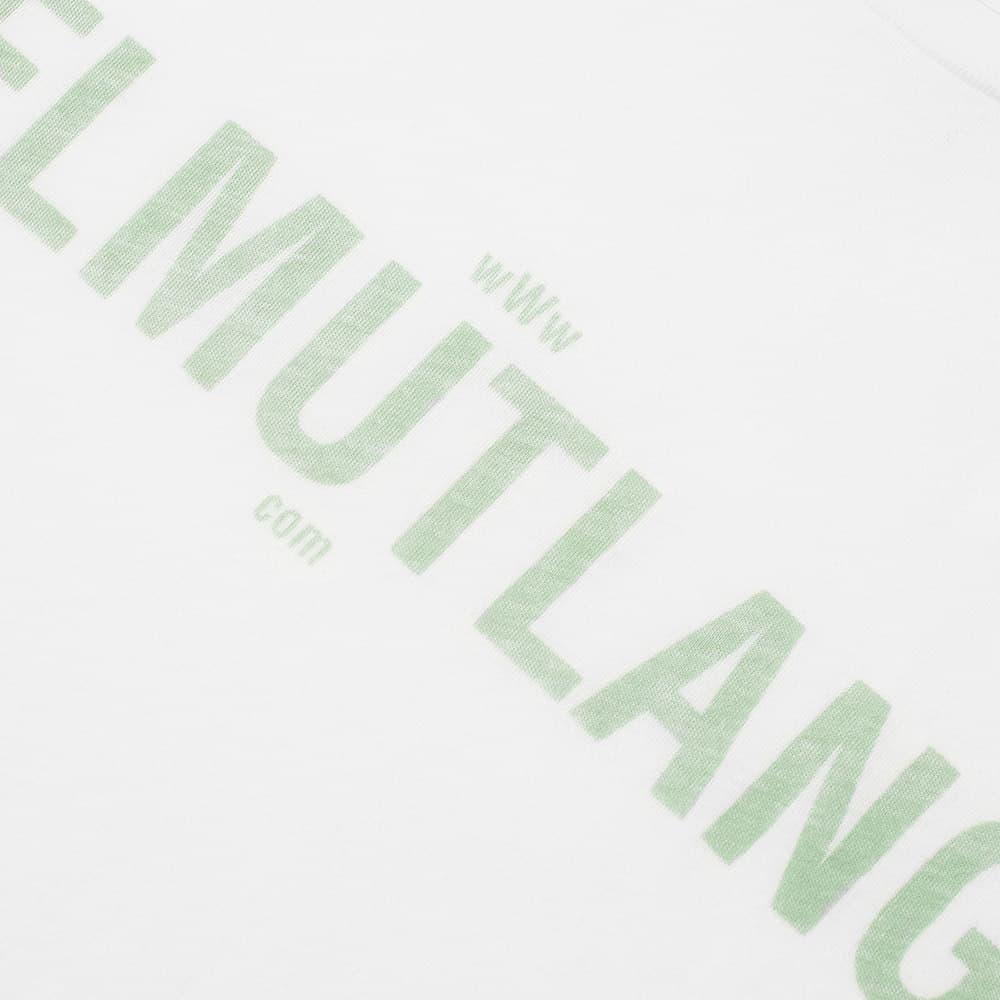 Helmut Lang Standard Web Tee - Chalk White