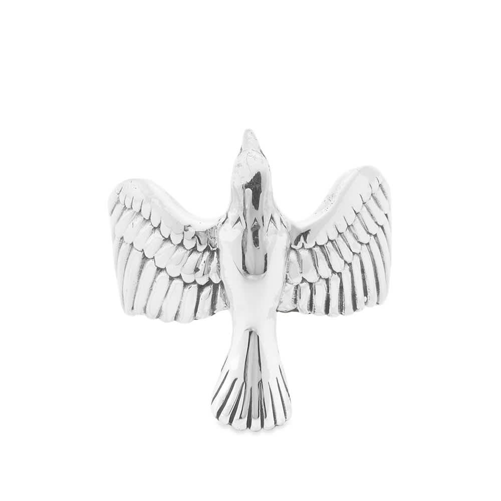 Maple Eagle Ring - Silver
