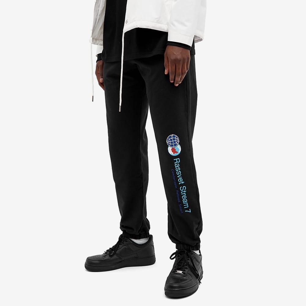 PACCBET Printed Leg Jogger - Black