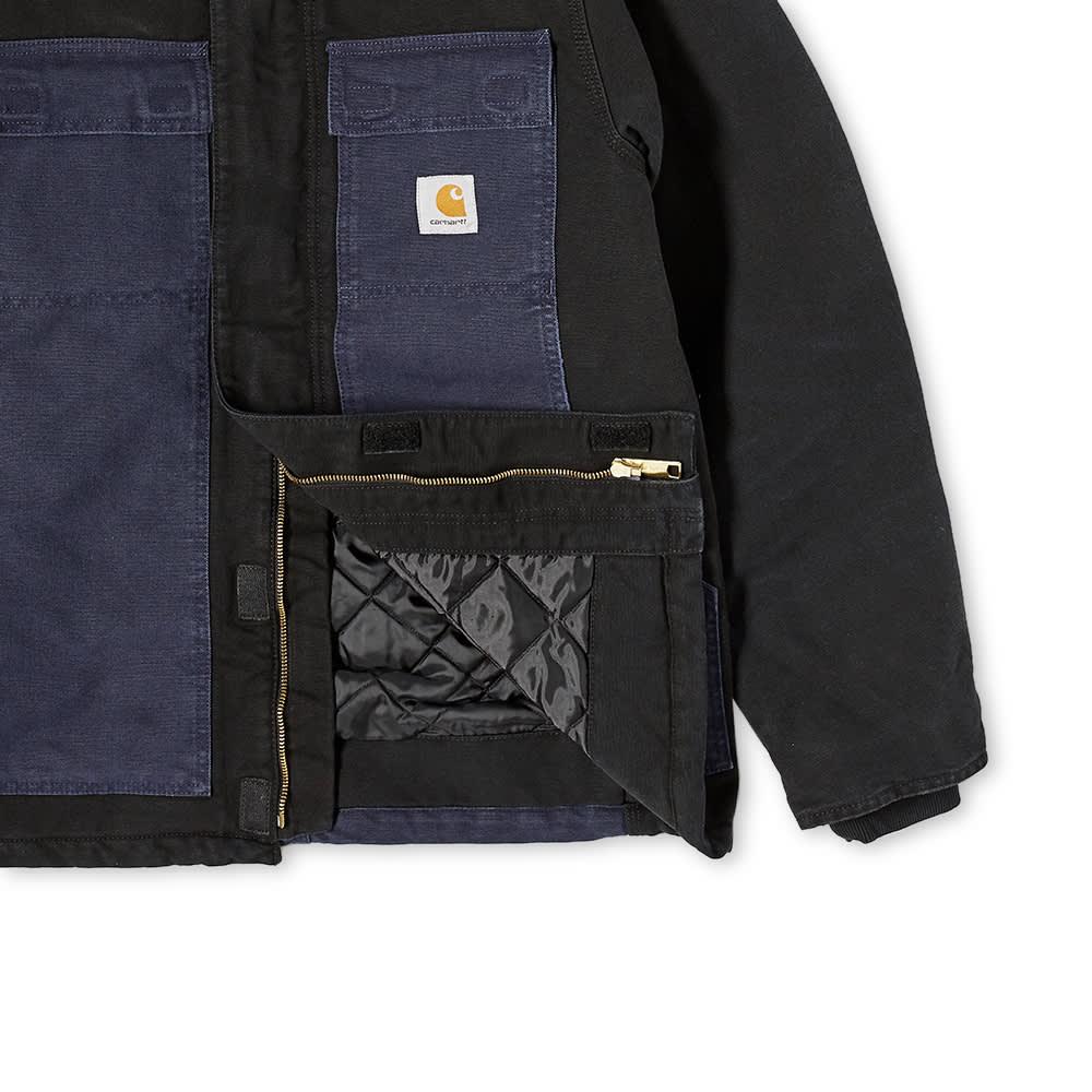 Carhartt WIP OG Arctic Coat - Black & Dark Navy