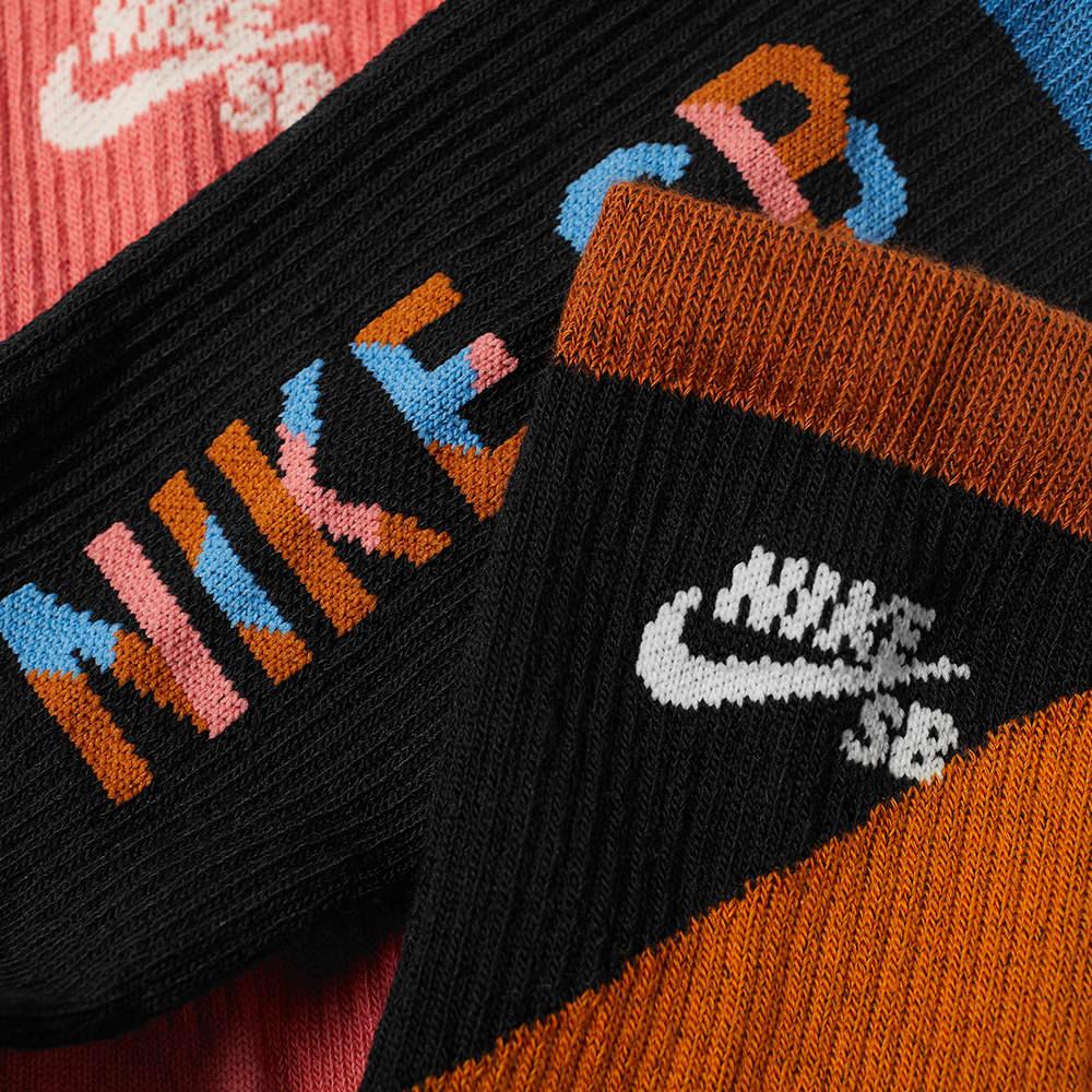 Nike SB  3-Pack Socks - Multi