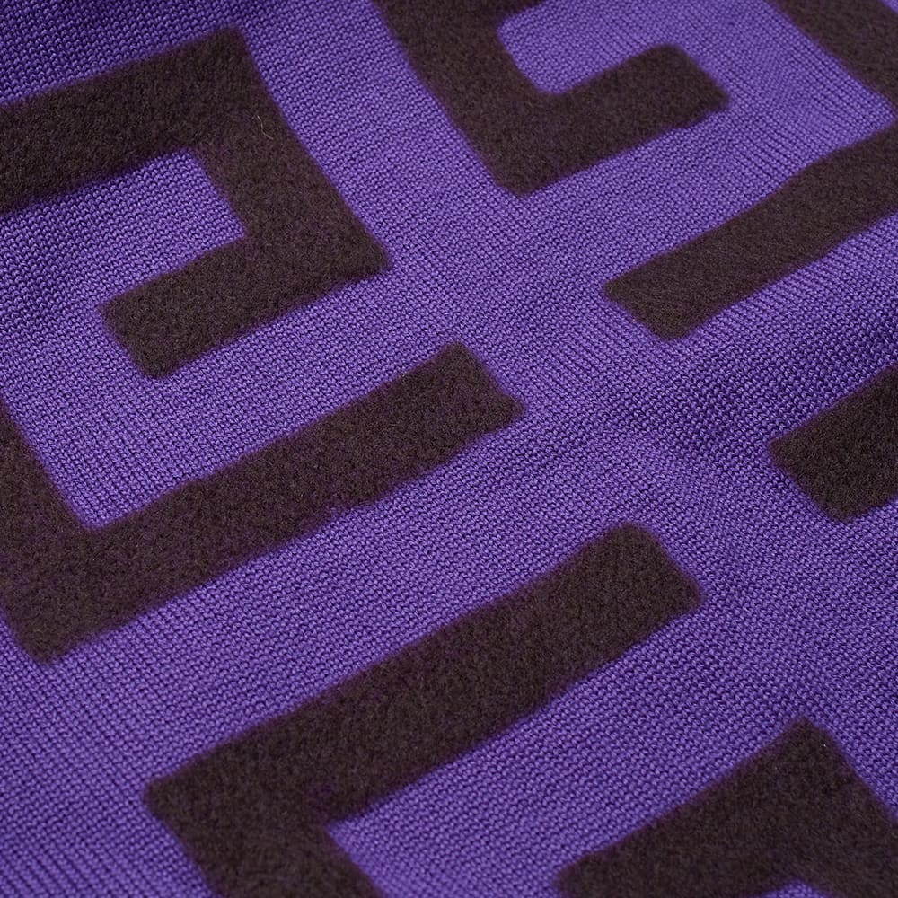 Givenchy 4G Logo Crew Knit - Purple