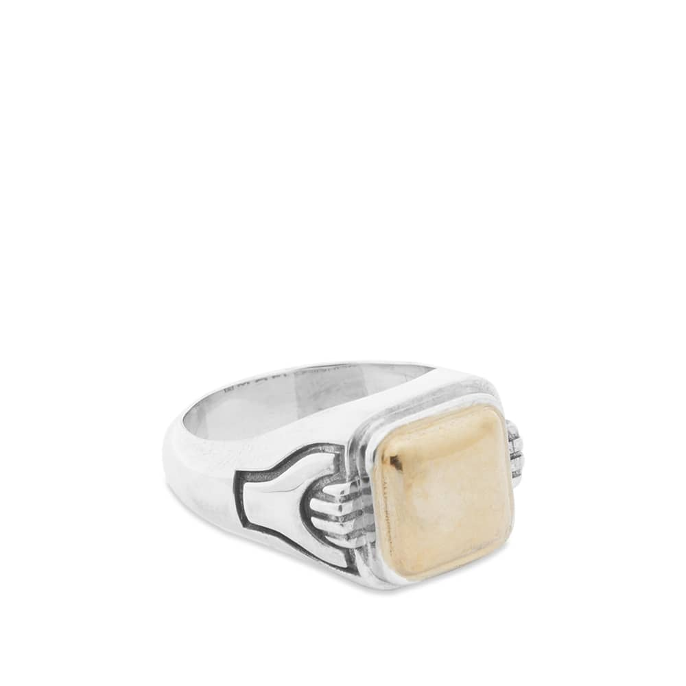 Maple 1992 Ring - Silver & Gold