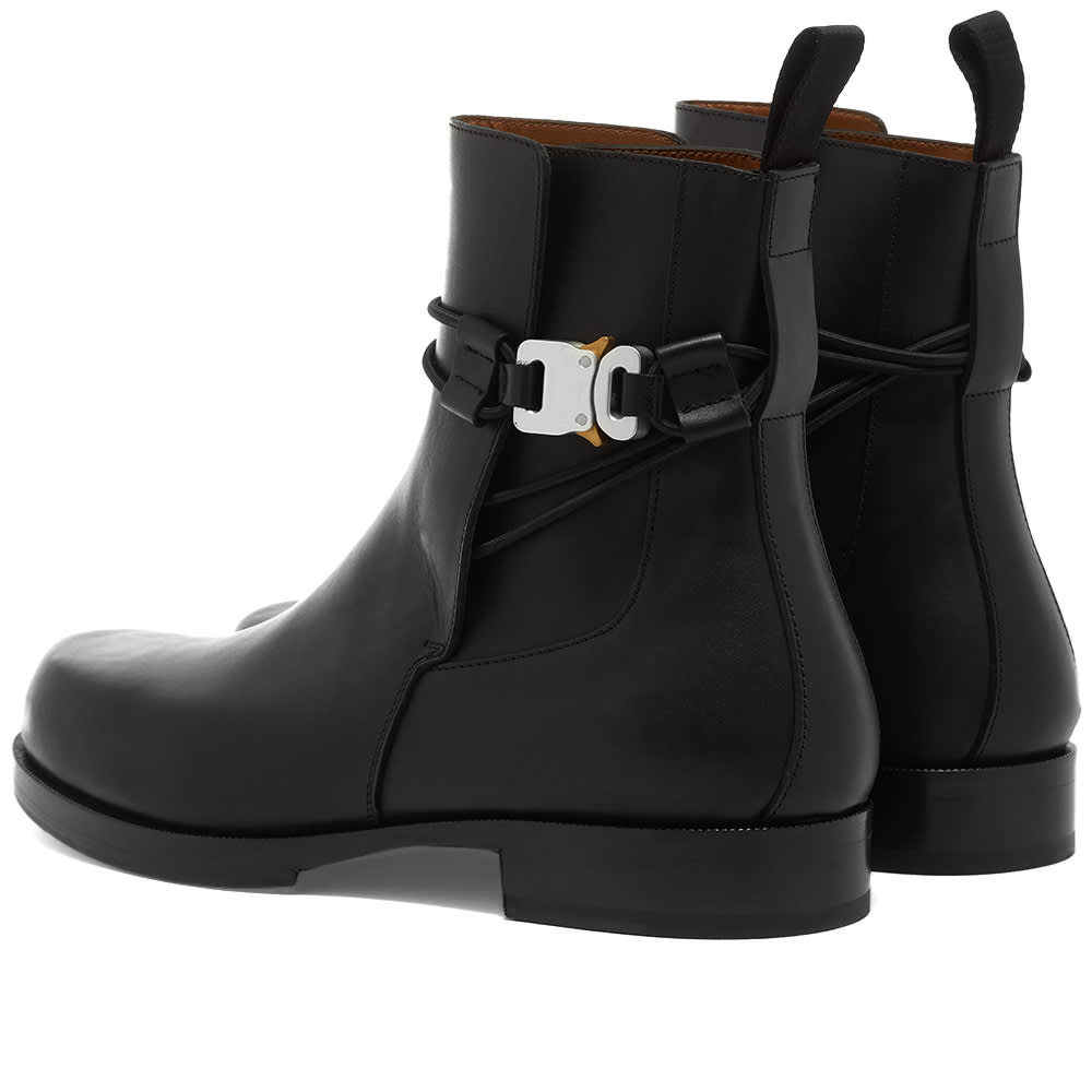 1017 ALYX 9SM Chelsea Boot With Buckle - Black