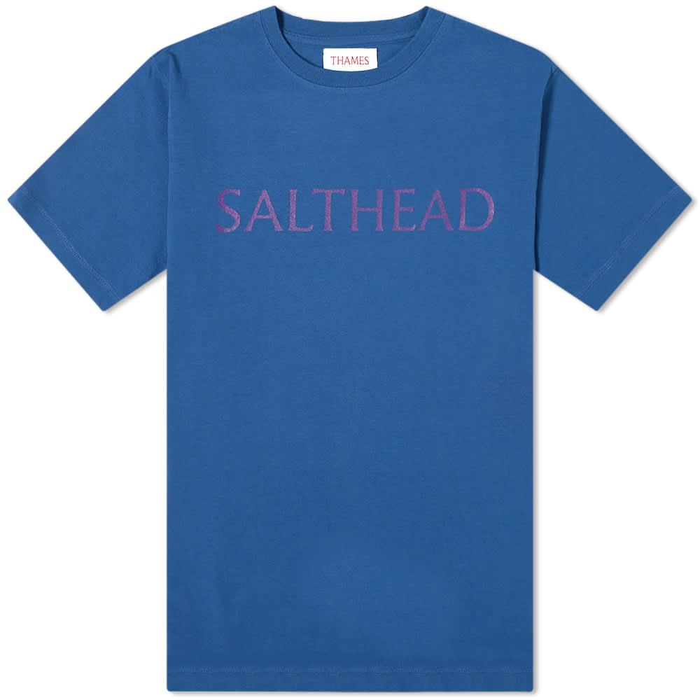 Thames Salt Head Tee - Navy