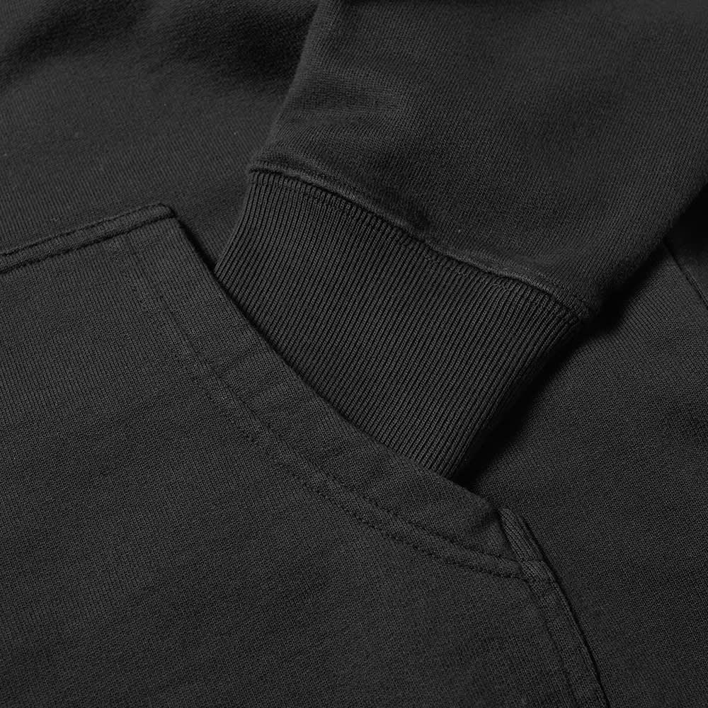 Thames Popover Logo Hoody - Black
