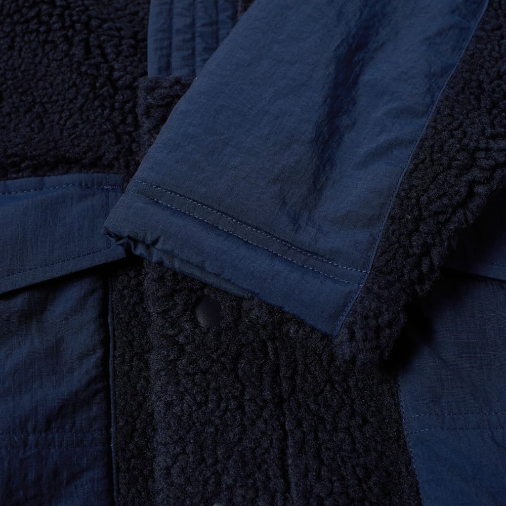 FDMTL Fleece Cardigan - Navy