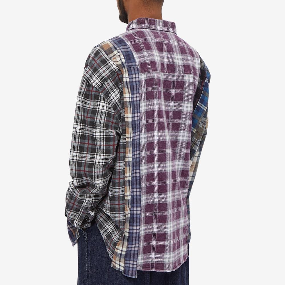 Needles Flannel 7 Cut Wide Shirt - Assorted