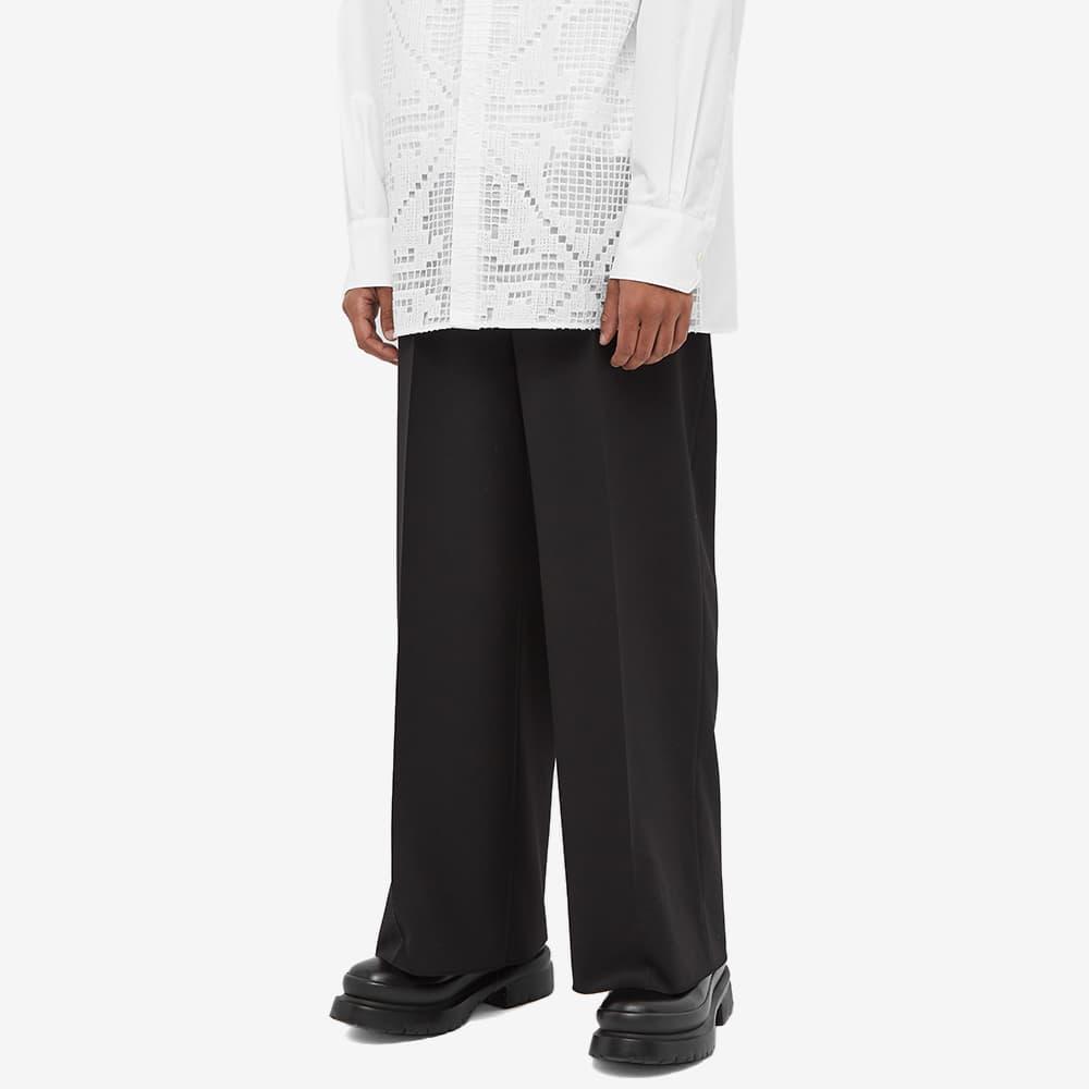 Valentino Wide Leg Pant - Black