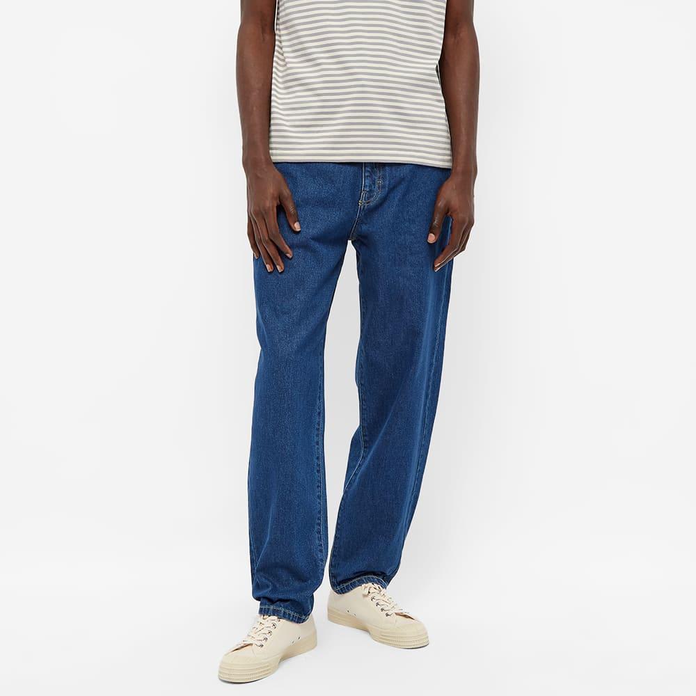 Stan Ray Tapered 5 Pocket Jean - Mid Stonewash