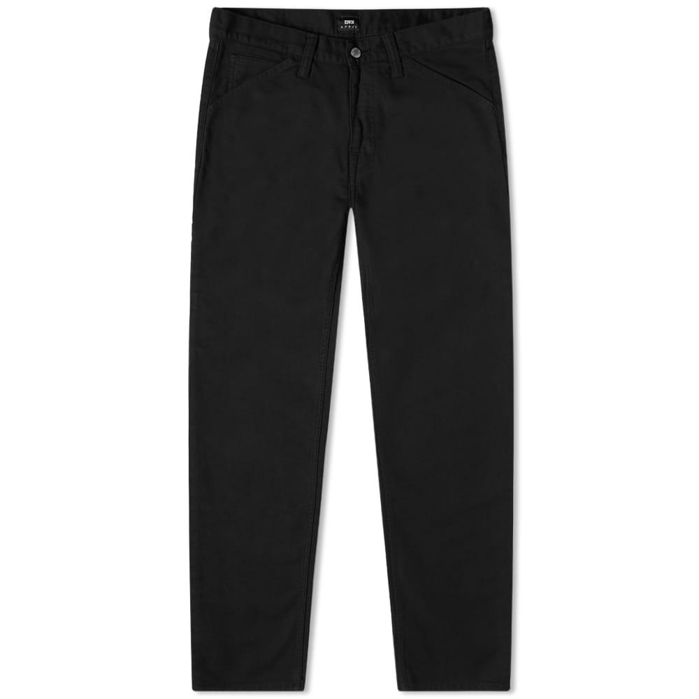 Edwin Carpenter Pant - Garment Washed Black