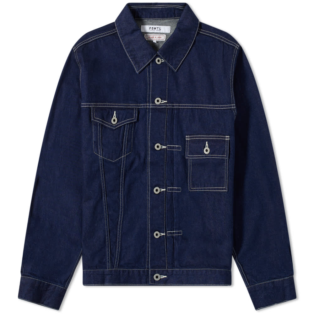 FDMTL Rinse Denim Jacket - Indigo