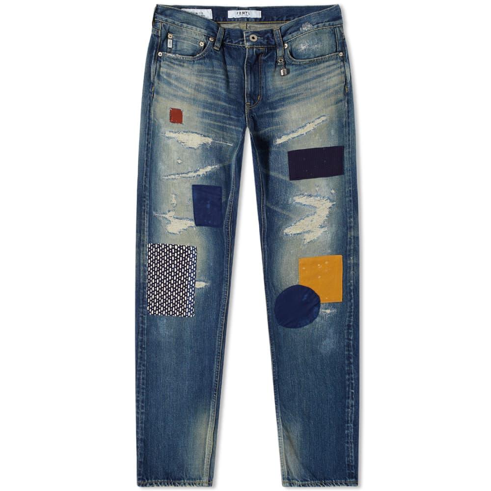 FDMTL Slim Fit Straight Jean - CS84 Denim