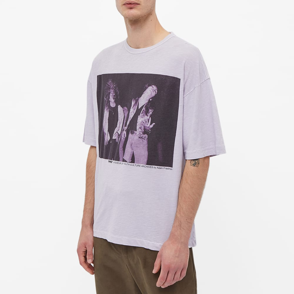 YMC x Museum Of Youth Culture Heavy Metal Tee - Lilac