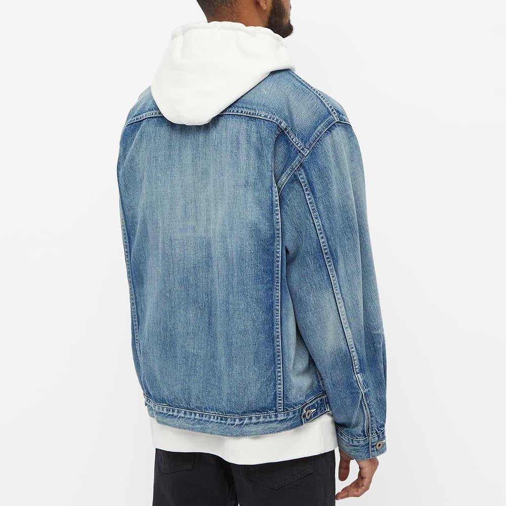 FDMTL Denim Jacket - Three Year Indigo Wash