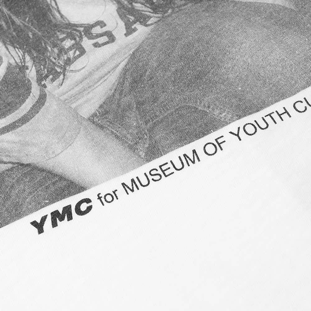 YMC x Museum Of Youth Culture Indie Tee - White