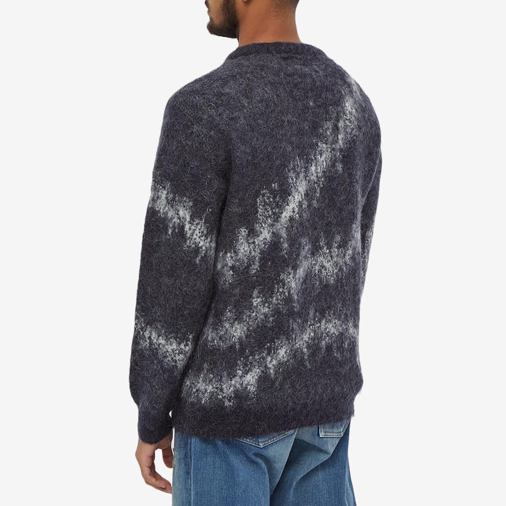 FDMTL Patchwork Wool Sweat - Navy
