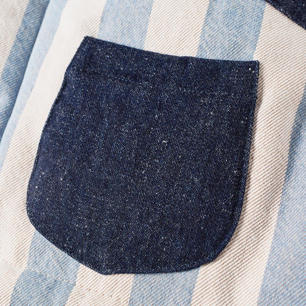 Bleu de Paname Down Vest - Ecru