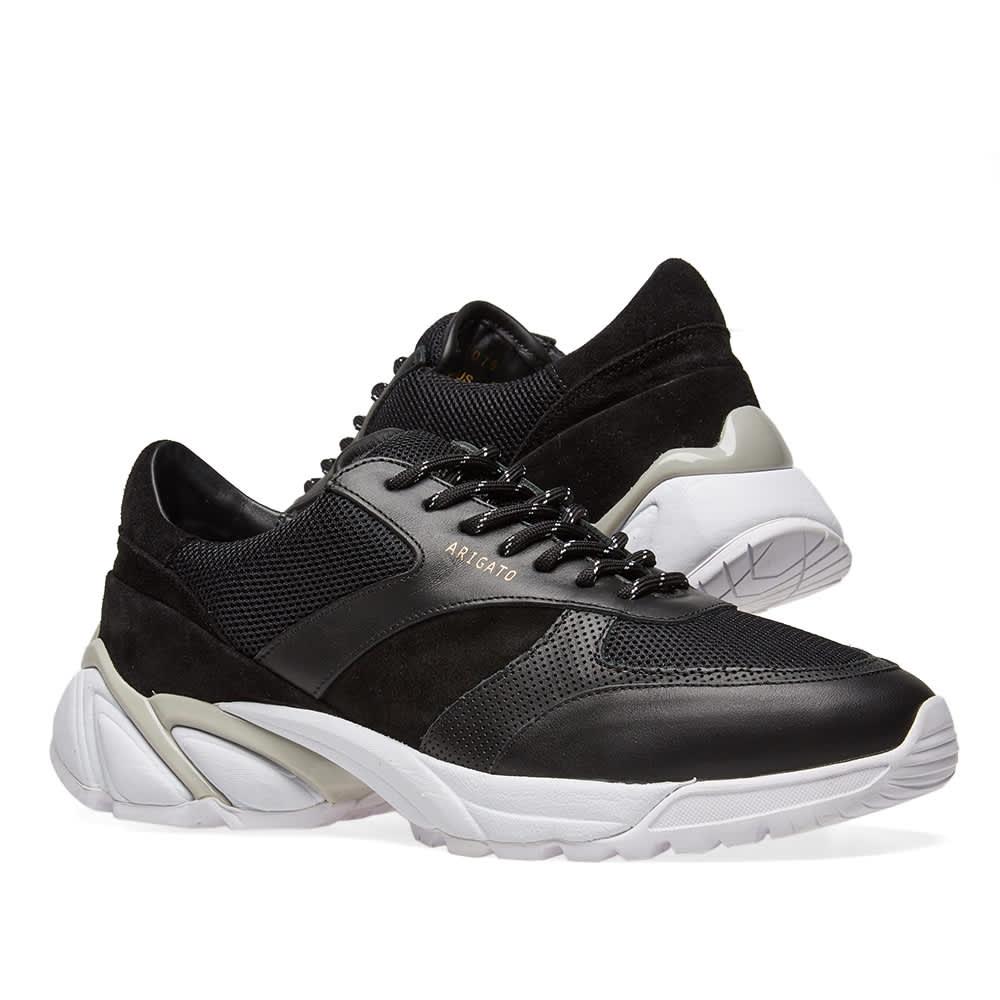 Axel Arigato Tech Runner - Black Leather