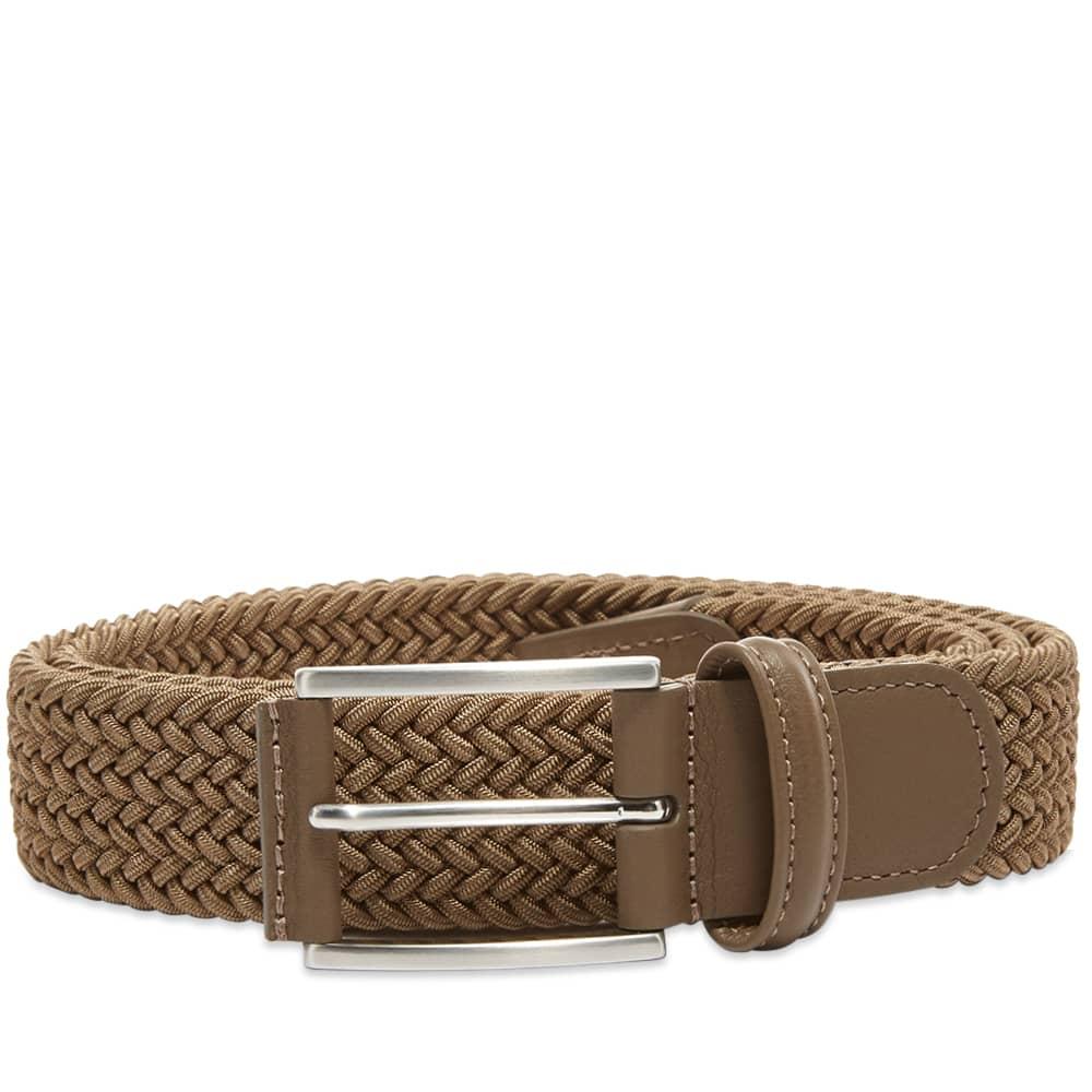 Anderson's Woven Textile Belt - Khaki