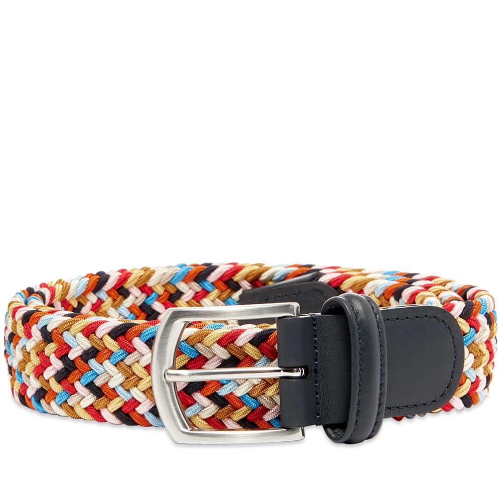 Anderson's Woven Textile Belt - Multi