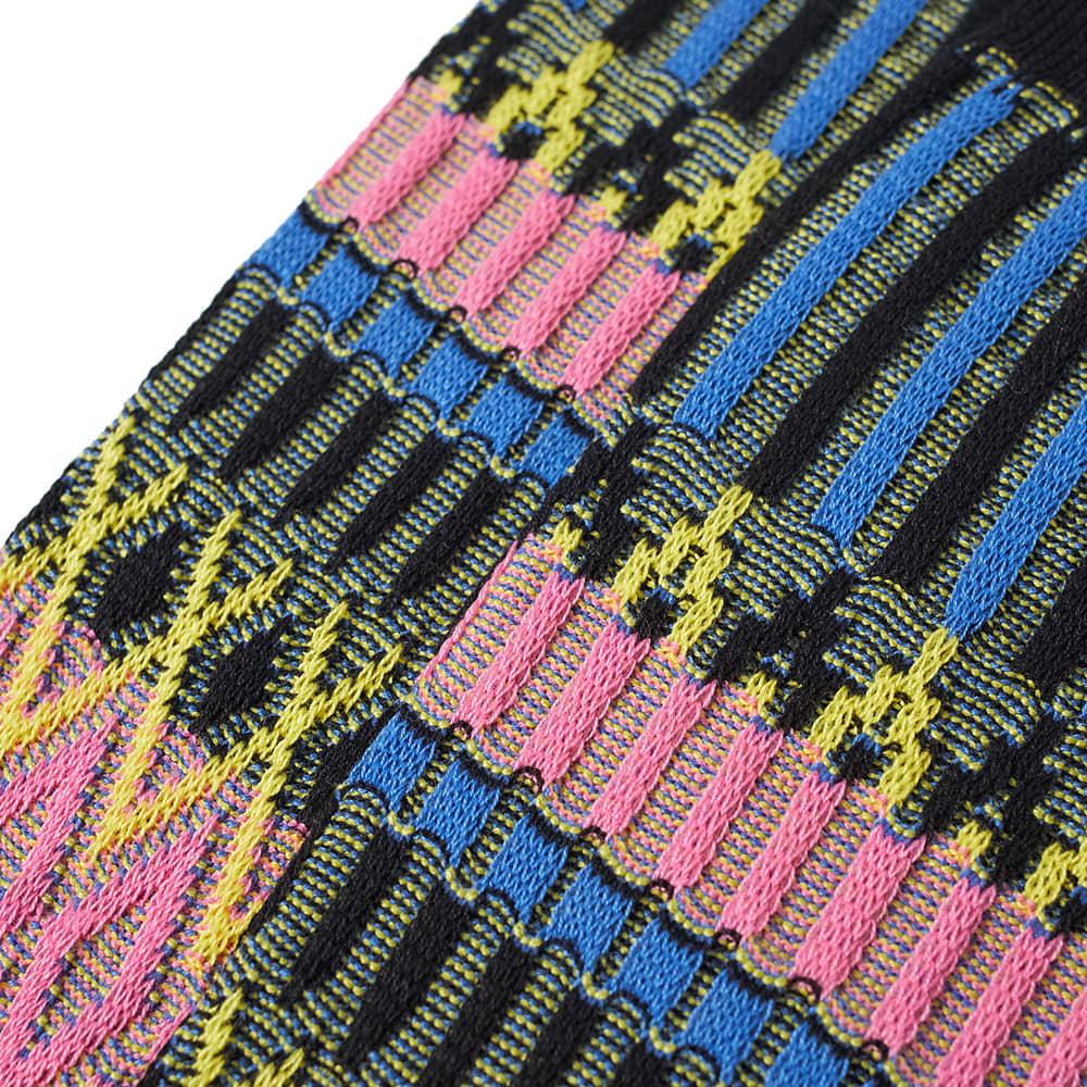 Ayame Basket Lunch Sock - Black
