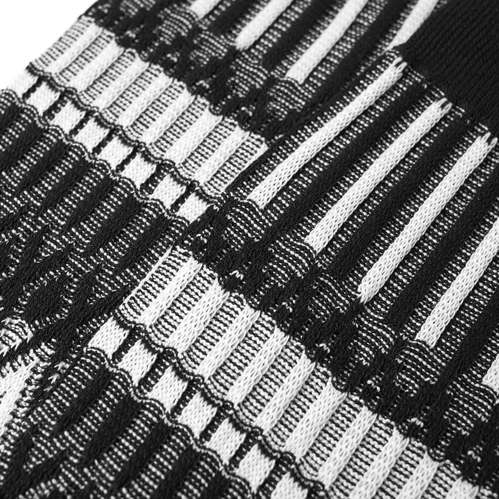 Ayame x C53 Basket Lunch Sock - Black & White