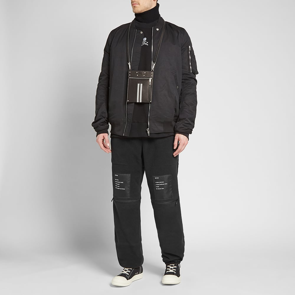 TAKAHIROMIYASHITA TheSoloist. Back Multi Zip Jogger - Black