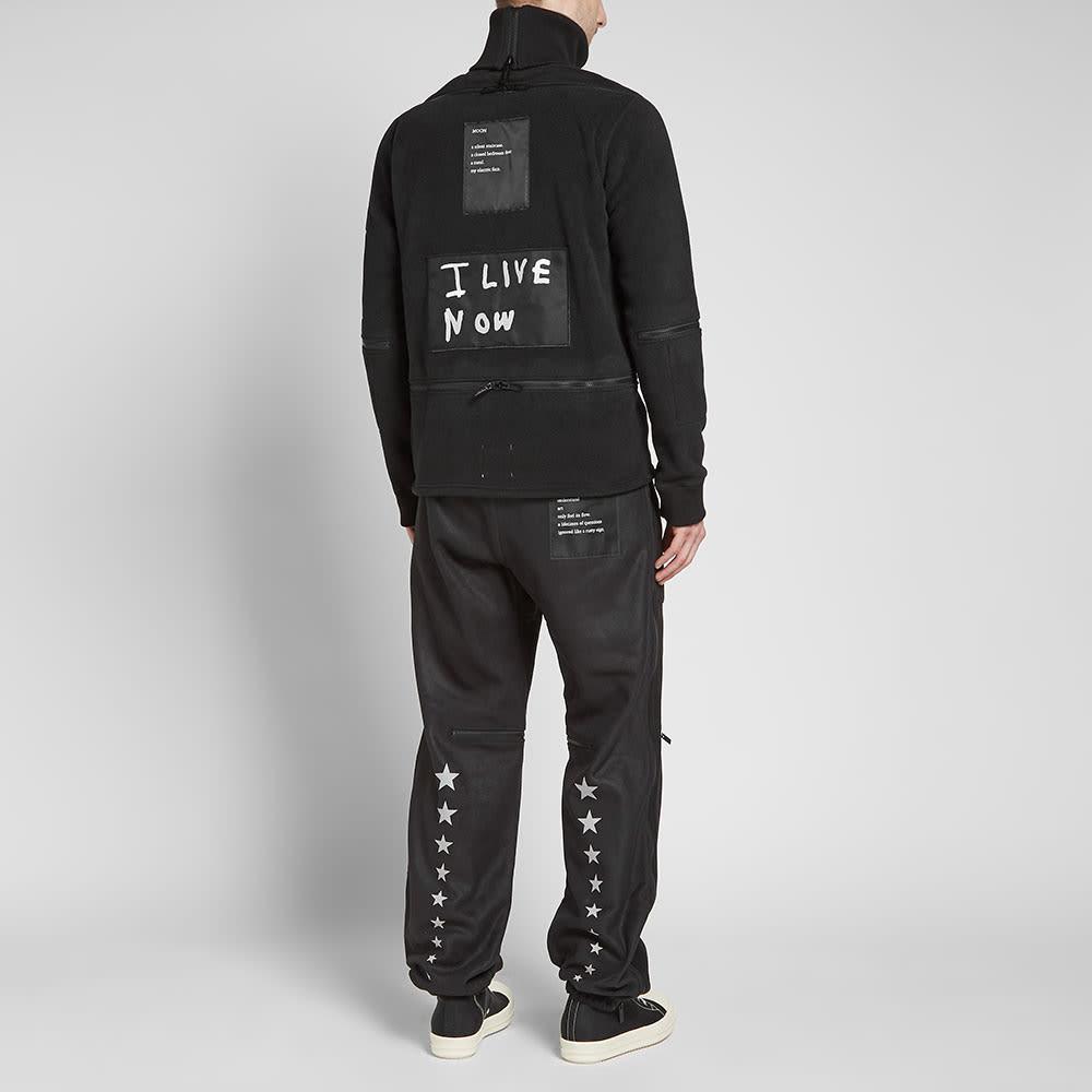 TAKAHIROMIYASHITA TheSoloist. Back Zip Turtleneck Fleece - Black