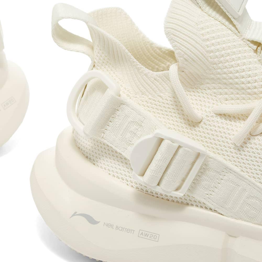 Neil Barrett x Li-Ning Buckle Strap Mesh Sneaker - White