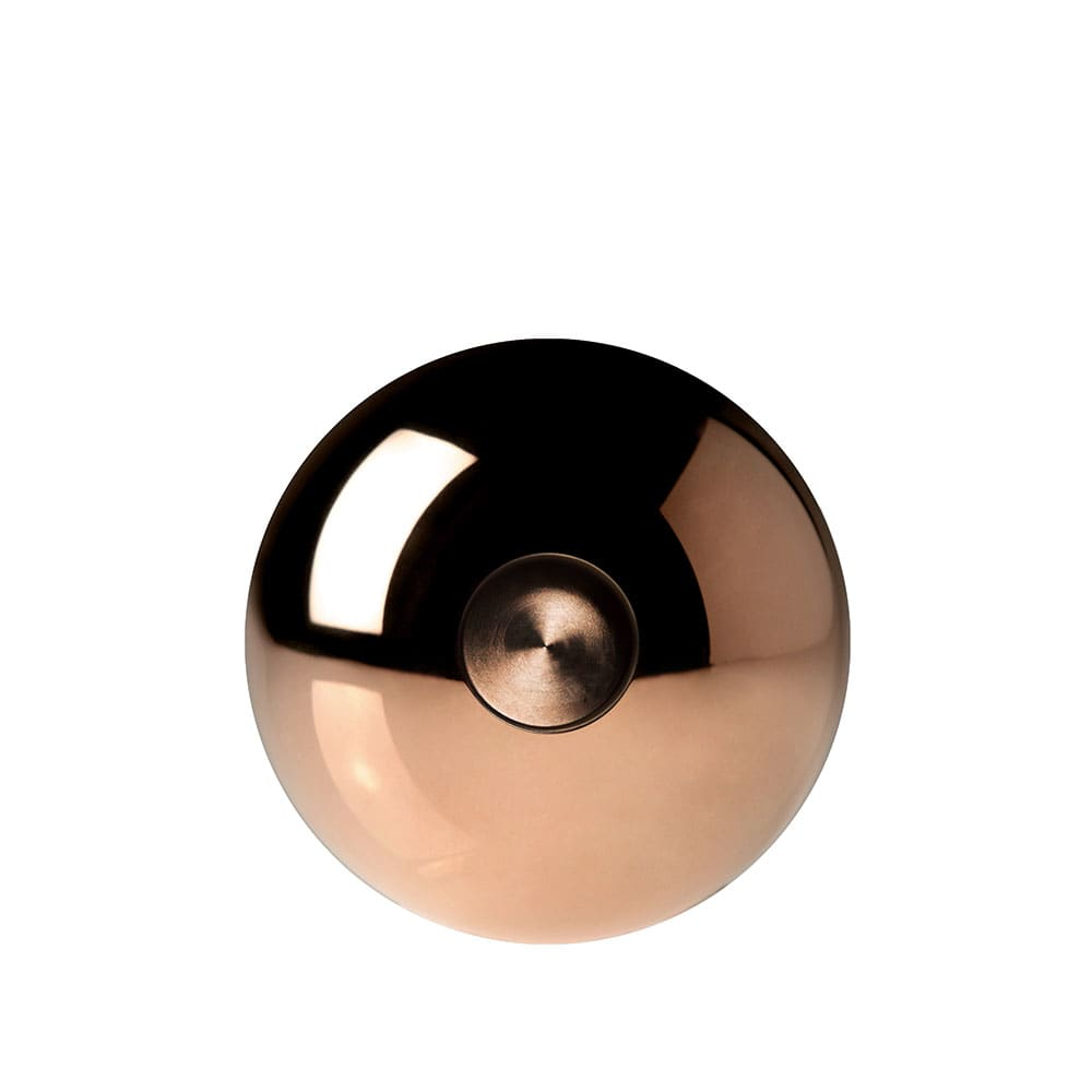 Minimalux Copper Spherical Candle Holder - Copper