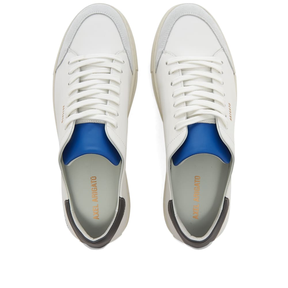 Axel Arigato Clean 90 Triple - Charcoal, Blue & Yellow