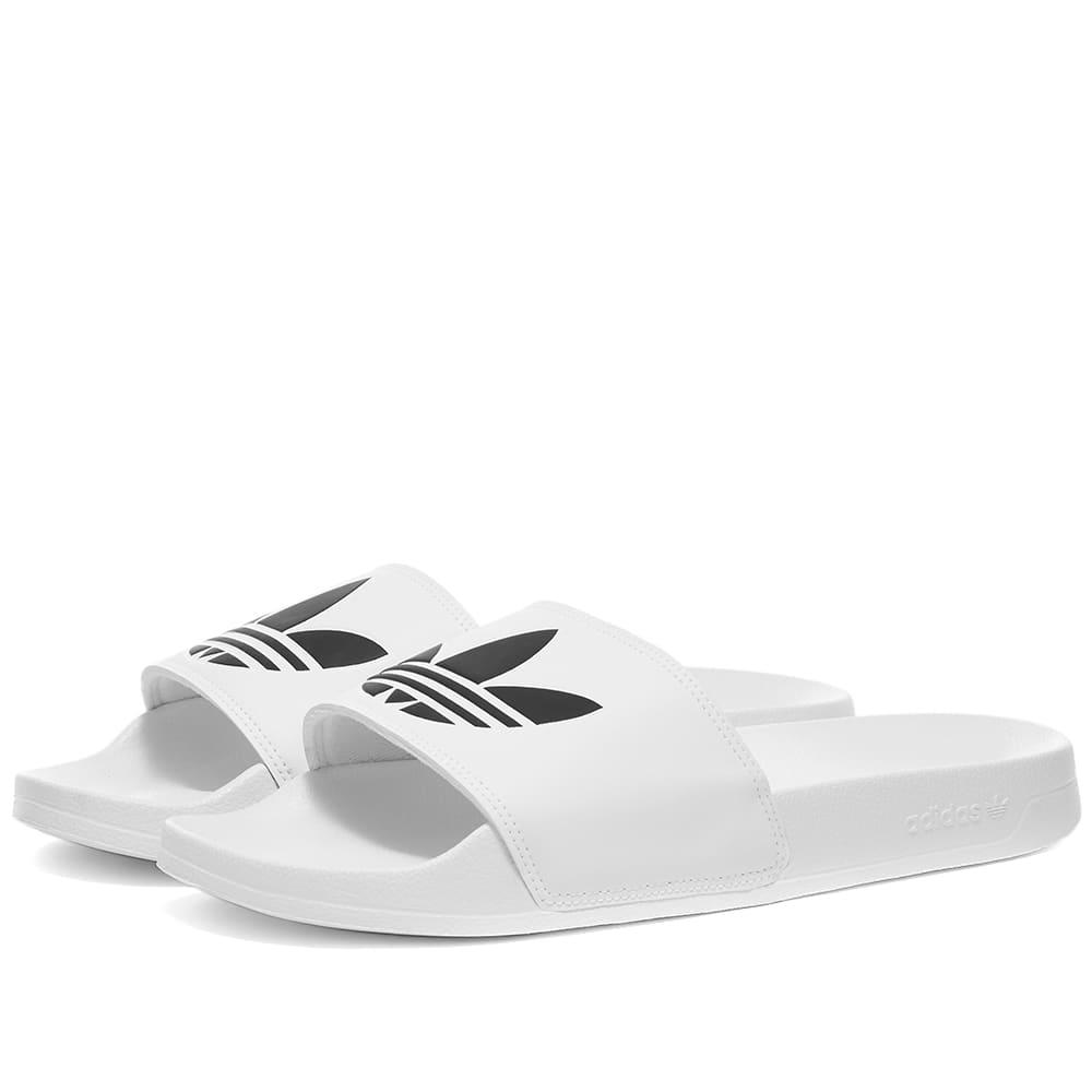 Adidas Adilette Lite - White & Core