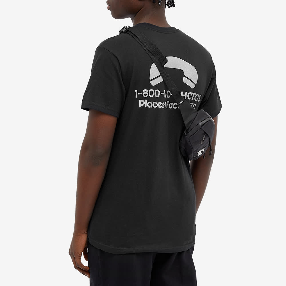 PLACES+FACES 1-800 Printed Tee - Black