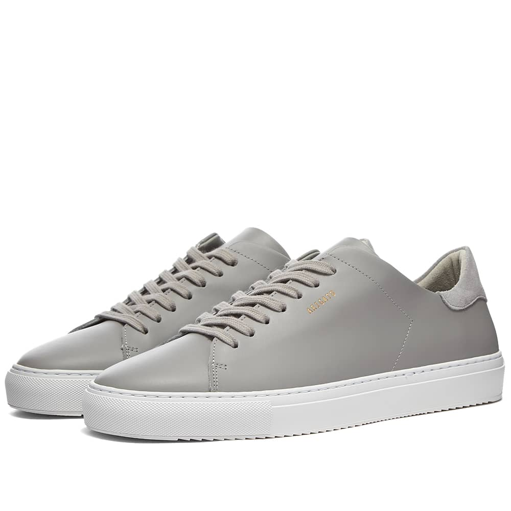 Axel Arigato Clean 90 Sneaker - Light Grey Leather