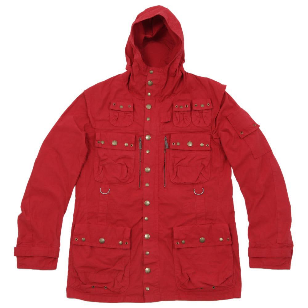 Barbour x Tokihito Yoshida Vintage Cotton Hunting Jacket - Red