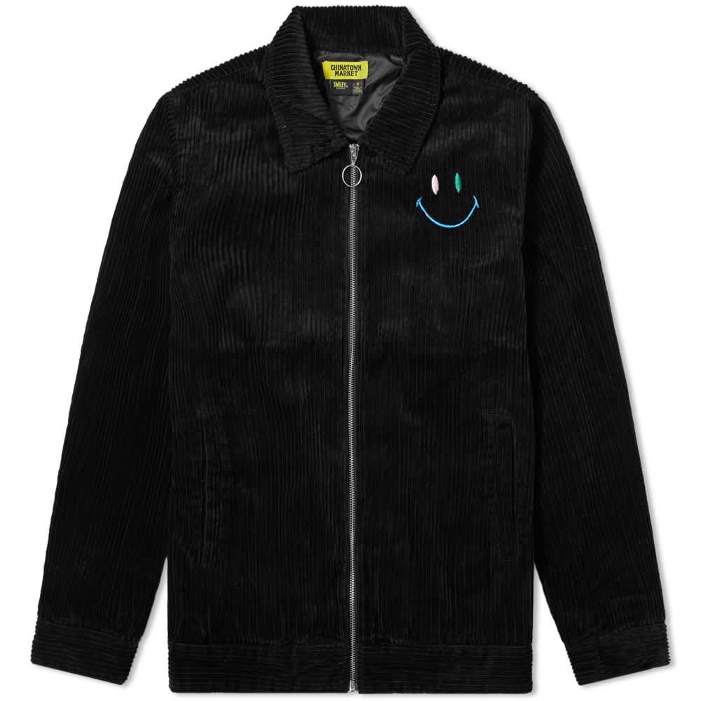 Chinatown Market Corduroy Swirl Coach Jacket