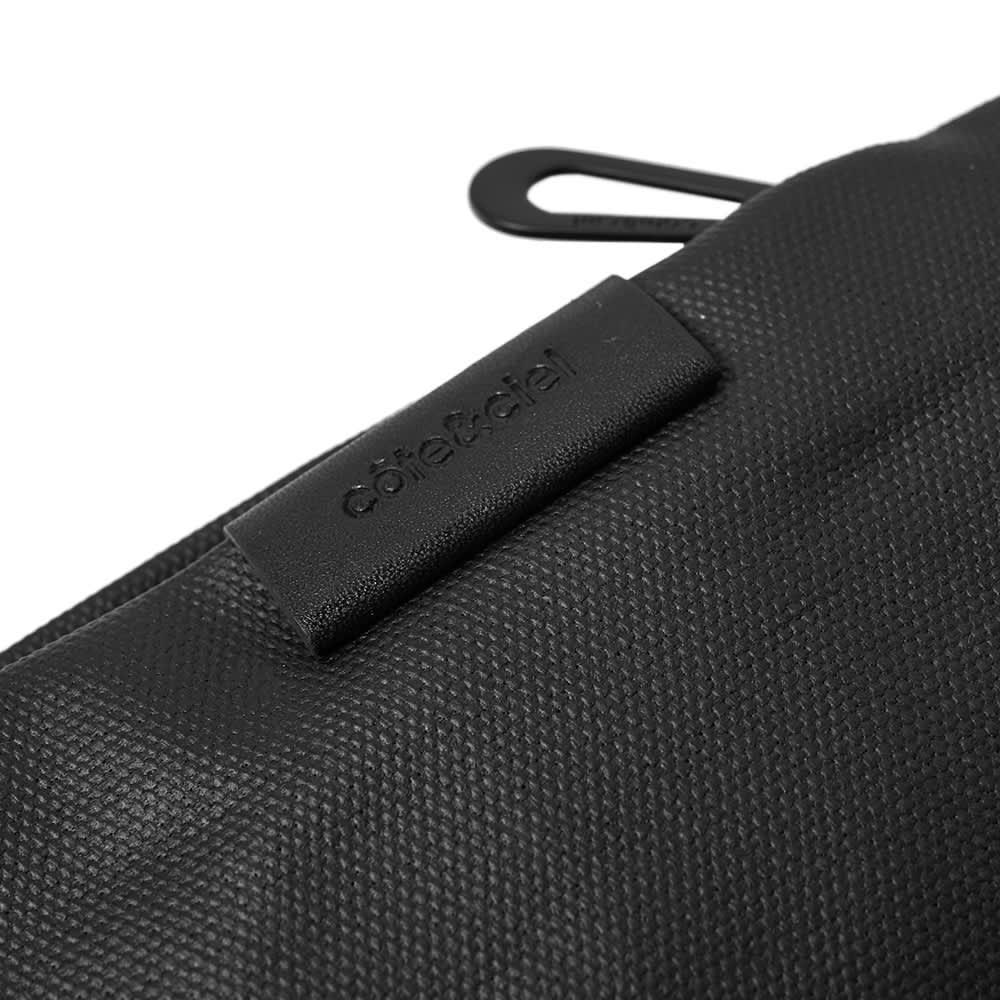 Cote&Ciel Inn M Cross Body Bag - Black Coated Canvas