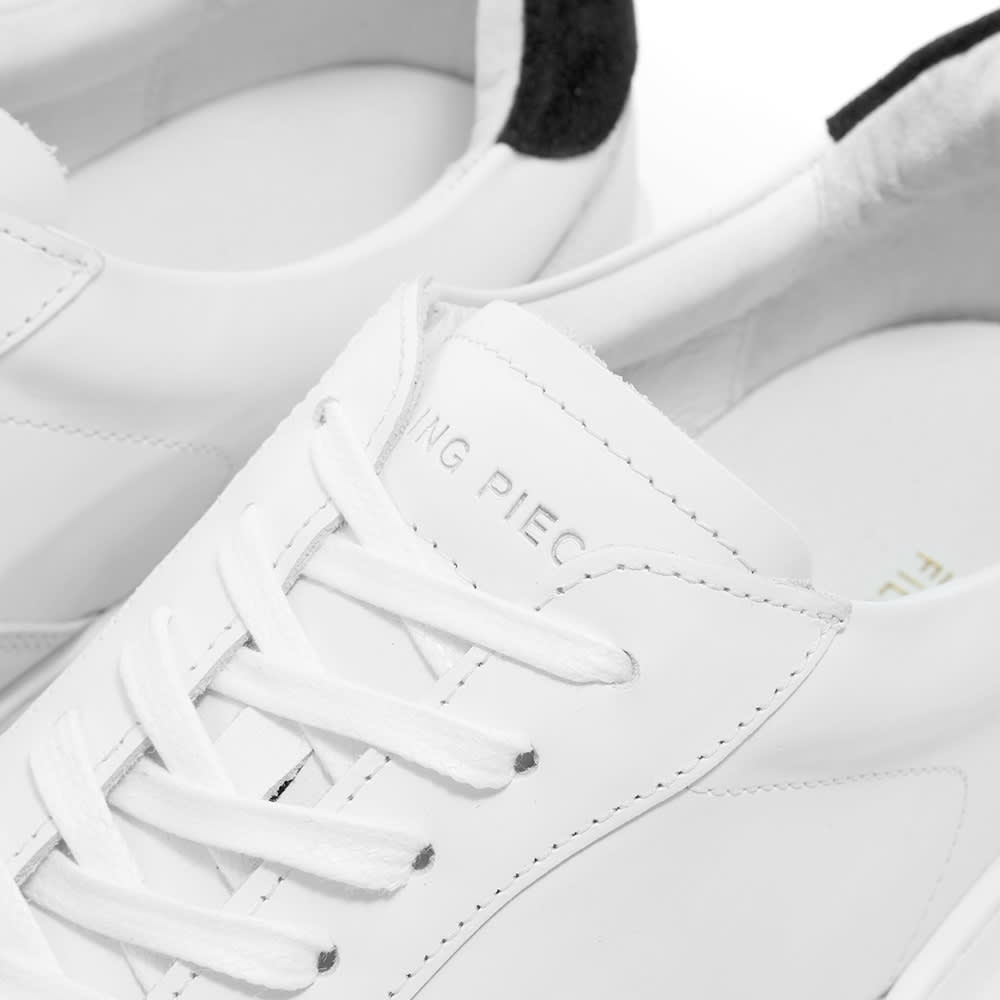 Filling Pieces Mondo 2.0 Ripple Sneaker - White & Black